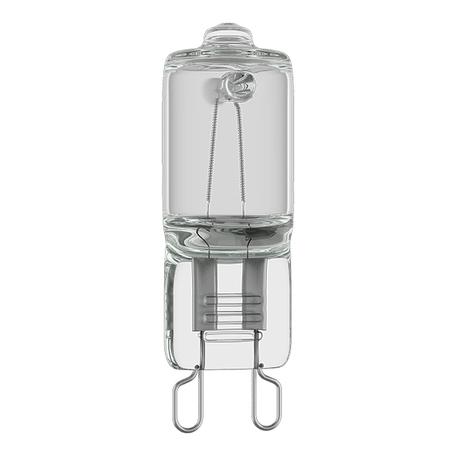 Галогенная лампа Lightstar HAL 922023 капсульная G9 40W, 2800K (теплый) 220V, диммируемая, гарантия нет гарантии