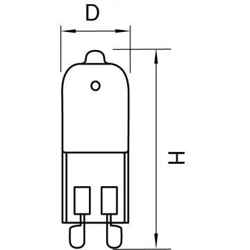 Схема с размерами Lightstar 922033