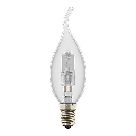 Галогенная лампа Lightstar HAL 922961 свеча на ветру E14 60W, 2800K (теплый) 220V, диммируемая, гарантия нет гарантии