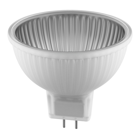Диммируемая галогенная лампа Lightstar 921707, 12V, GU5.3, 50W, 1100lm, 2800K, теплый белый свет