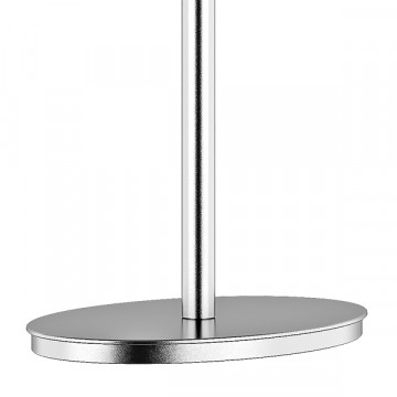Настольная лампа Lightstar Paralume 725926, 2xE14x40W, прозрачный, хром, белый, металл, хрусталь, текстиль - миниатюра 6