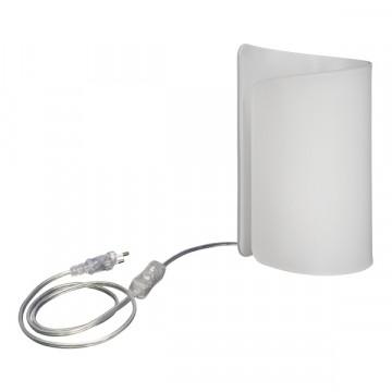 Настольная лампа Lightstar Pittore 811910, 1xE27x40W, белый, стекло