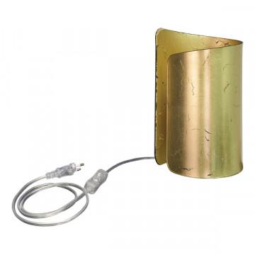 Настольная лампа Lightstar Pittore 811912, 1xE27x40W, матовое золото, стекло