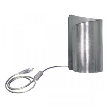 Настольная лампа Lightstar Pittore 811914, 1xE27x40W, серебро, стекло