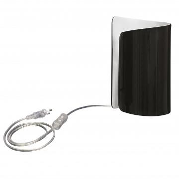 Настольная лампа Lightstar Pittore 811917, 1xE27x40W, белый, черный, стекло