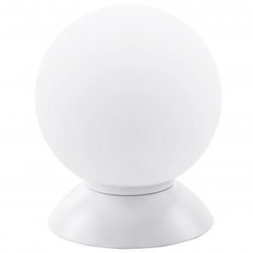 Настольная лампа Lightstar Globo 813916, 1xE14x40W, белый, металл, стекло
