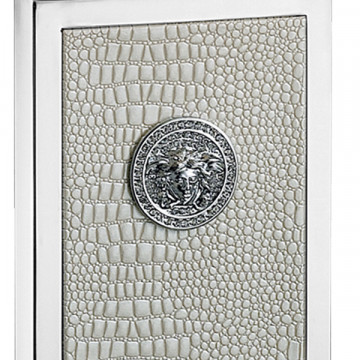 Настольная лампа Lightstar Faraone 870936, 1xE27x60W, серый, белый, кожа/кожзам, текстиль - миниатюра 6