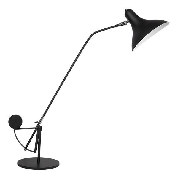 Настольная лампа Lightstar Manti 764907, 1xE14x40W, черный, металл - фото 1