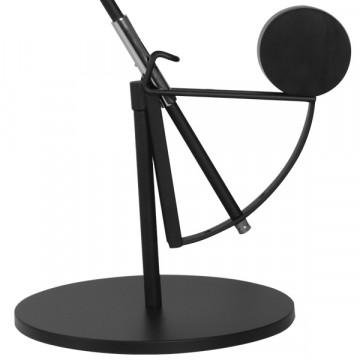 Настольная лампа Lightstar Manti 764907, 1xE14x40W, черный, металл - миниатюра 3