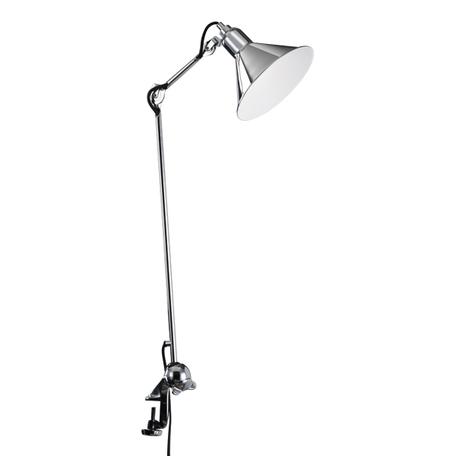 Настольная лампа Lightstar Loft 765924, 1xE14x40W, хром, красный, металл