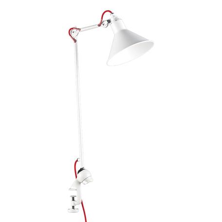 Настольная лампа Lightstar Loft 765926, 1xE14x40W, белый, красный, металл