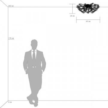 Схема с размерами Lightstar 892168