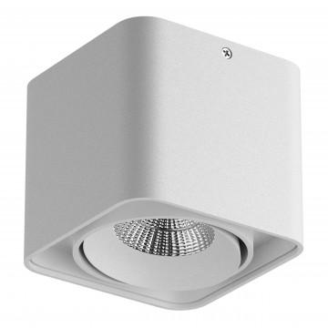 Потолочный светодиодный светильник Lightstar Monocco 052116, IP65, 4000K (дневной), белый, металл