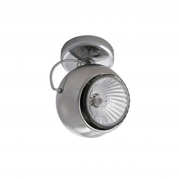 Потолочный светильник с регулировкой направления света Lightstar Fabi 110544, 1xGU10x50W, хром, металл