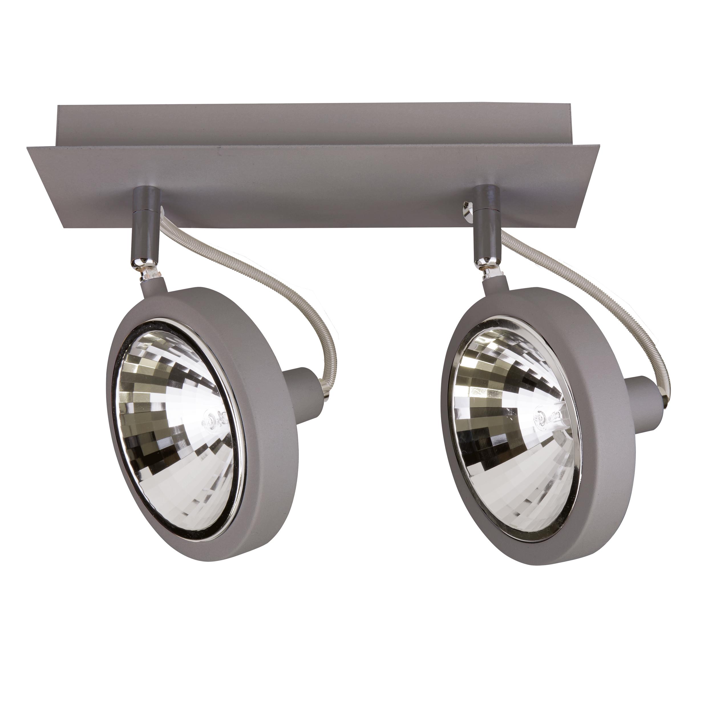 Потолочный светильник с регулировкой направления света Lightstar Varieta 9 210329, 2xG9x40W - фото 1