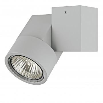 Потолочный светильник с регулировкой направления света Lightstar Illumo X1 051020, 1xGU10x50W, серый, металл