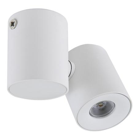 Потолочный светодиодный светильник с регулировкой направления света Lightstar Punto 051126, IP40, LED 3W 4000K 190lm, белый, металл