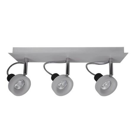 Потолочный светильник Lightstar Varieta 16 210139, 3xGU10x50W, серый, металл