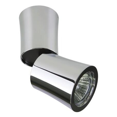 Потолочный светильник Lightstar Rotonda 214454, 1xGU10x50W, хром, металл