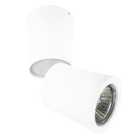 Потолочный светильник с регулировкой направления света Lightstar Rotonda 214456, 1xGU10x50W, белый, металл