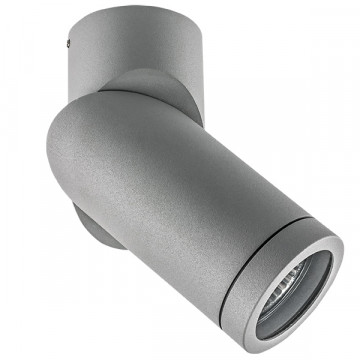 Потолочный светильник Lightstar Illumo F 051019, IP65, 1xGU10x50W, серый, металл
