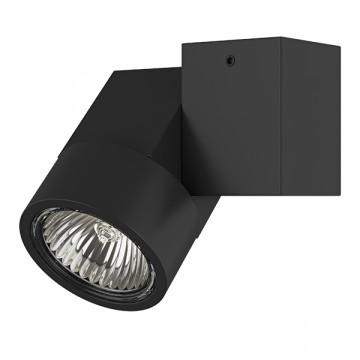 Потолочный светильник Lightstar Illumo X1 051027, 1xGU10x50W, черный, металл