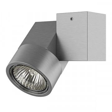 Потолочный светильник Lightstar Illumo X1 051029, 1xGU10x50W, матовый хром, металл
