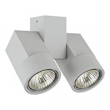 Потолочный светильник Lightstar Illumo X2 051030, 2xGU10x50W, серый, металл