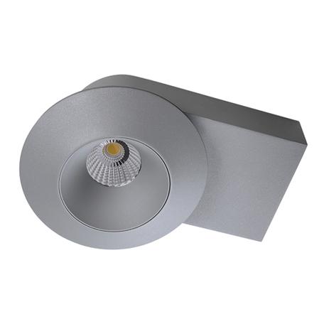 Потолочный светодиодный светильник Lightstar Orbe 051219, LED 15W 4000K 1240lm, серый, металл