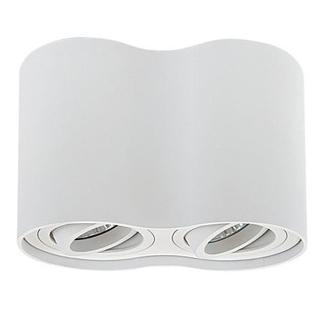 Потолочный светильник Lightstar Binoco 052026, 2xGU10x50W, белый, металл
