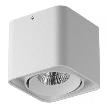 Потолочный светодиодный светильник Lightstar Monocco 052116, IP65, LED 10W 4000K 600lm, белый, металл
