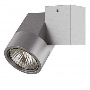 Потолочный светильник с регулировкой направления света Lightstar Illumo X1 051029, 1xGU10x50W, матовый хром, металл