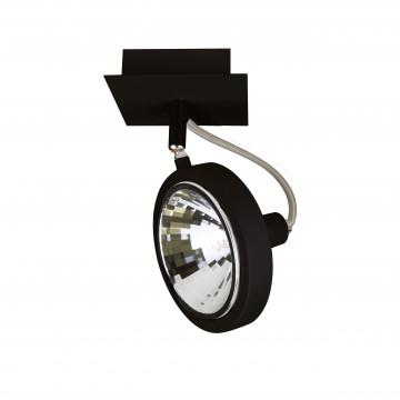Потолочный светильник с регулировкой направления света Lightstar Varieta 9 210317, 1xG9x40W, черный, металл