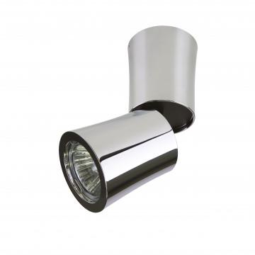 Потолочный светильник с регулировкой направления света Lightstar Rotonda 214454, 1xGU10x50W, хром, металл