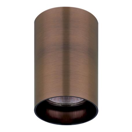 Потолочный светильник Lightstar Rullo 214430, 1xGU10x50W, медь, металл
