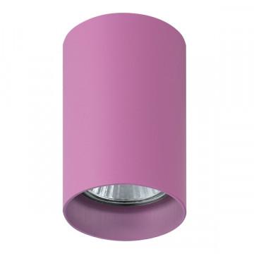 Потолочный светильник с регулировкой направления света Lightstar Rullo 214432, 1xGU10x50W, розовый, металл