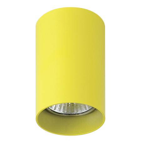 Потолочный светильник Lightstar Rullo 214433, 1xGU10x50W, желтый, металл
