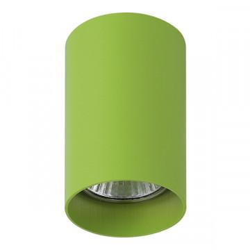 Потолочный светильник Lightstar Rullo 214434, 1xGU10x50W, зеленый, металл