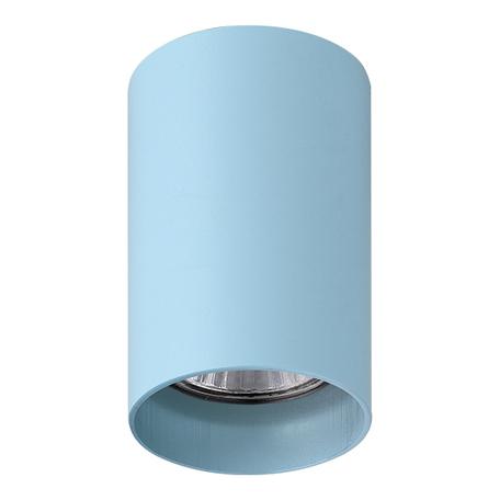Потолочный светильник с регулировкой направления света Lightstar Rullo 214435, 1xGU10x50W, голубой, металл