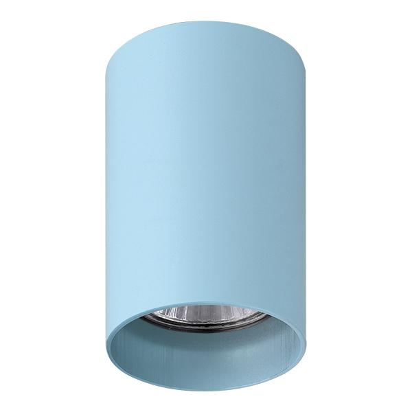 Потолочный светильник с регулировкой направления света Lightstar Rullo 214435, 1xGU10x50W, голубой, металл - фото 1
