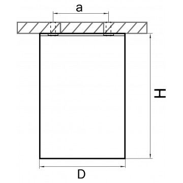 Схема с размерами Lightstar 214435