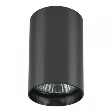Потолочный светильник Lightstar Rullo 214438, 1xGU10x50W, черный хром, металл