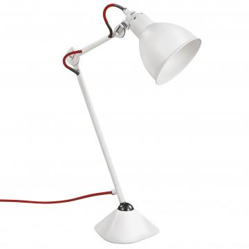 Настольная лампа Lightstar Loft 765916, 1xE14x40W, белый, красный, металл