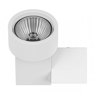 Потолочный светильник Lightstar Illumo X1 051026, 1xGU10x50W, белый, металл