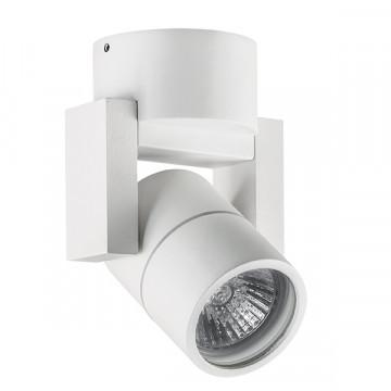 Потолочный светильник Lightstar Illumo L1 051046, IP65, 1xGU10x50W, белый, металл