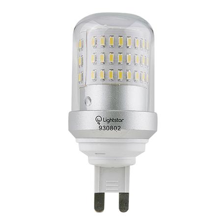 Светодиодная лампа Lightstar LED 930802 капсульная G9 9W, 3000K (теплый) 220V, гарантия 1 год