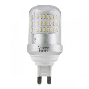 Светодиодная лампа Lightstar LED 930804 капсульная G9 9W, 4000K (дневной) 220V, гарантия 1 год