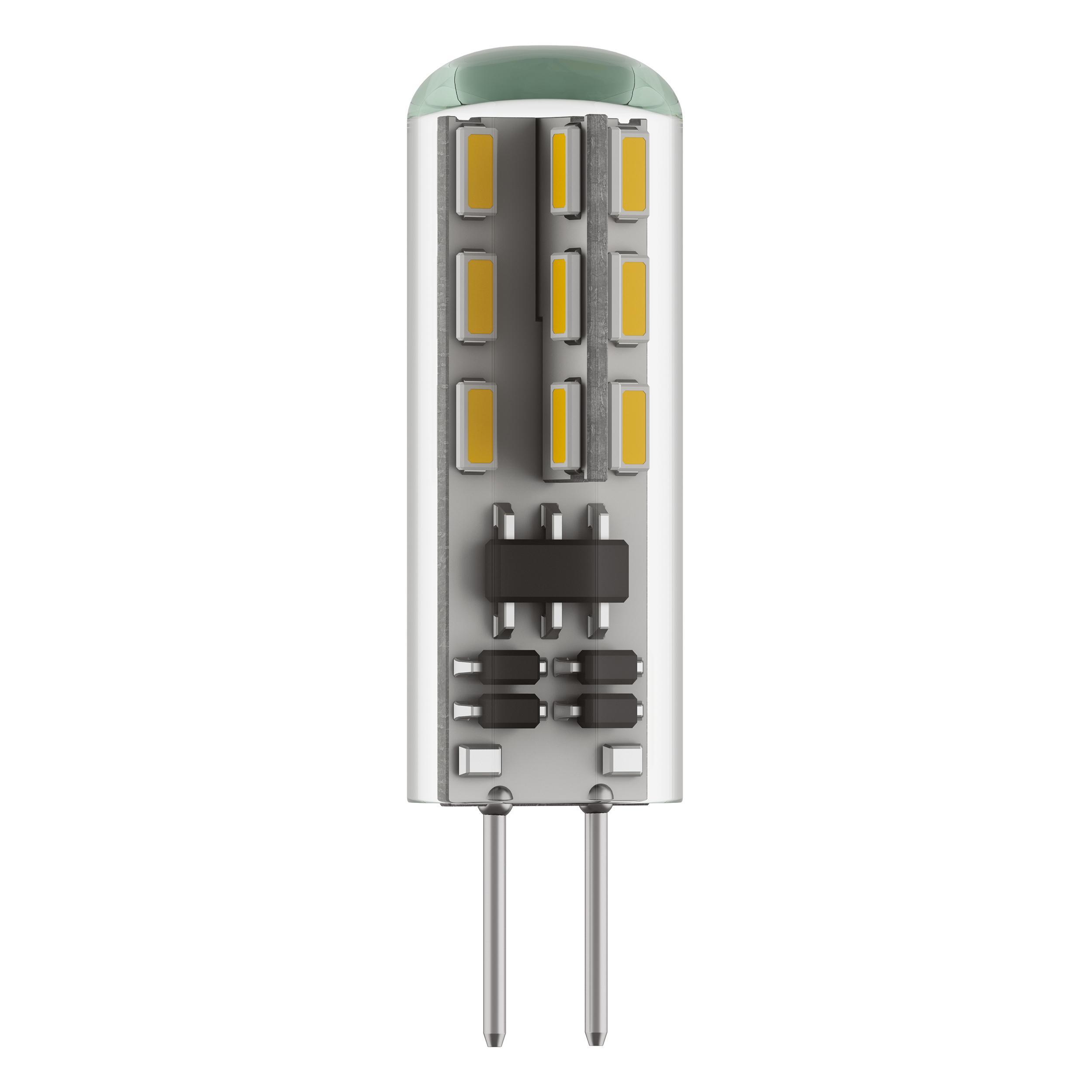 Светодиодная лампа Lightstar LED 932502 капсульная G4 1,5W, 3000K (теплый) 12V, гарантия 1 год - фото 1