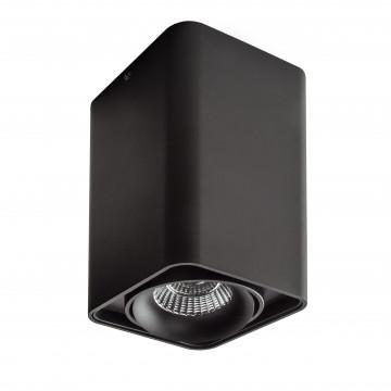 Потолочный светильник Lightstar Monocco 212537, 1xGU10x50W, черный, металл