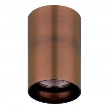 Потолочный светильник с регулировкой направления света Lightstar Rullo 214430, 1xGU10x50W, медь, металл